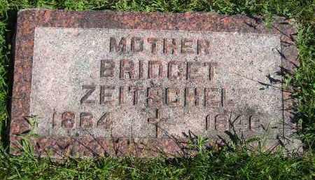 ZEITSCHEL, BRIDGET - Hanson County, South Dakota | BRIDGET ZEITSCHEL - South Dakota Gravestone Photos