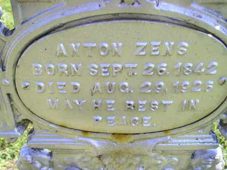ZENS, ANTON - Hanson County, South Dakota | ANTON ZENS - South Dakota Gravestone Photos