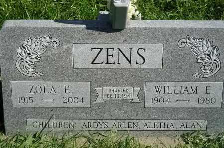 ZENS, WILLIAM E. - Hanson County, South Dakota | WILLIAM E. ZENS - South Dakota Gravestone Photos