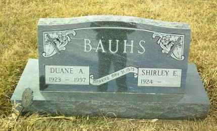 BAUHS, SHIRLEY - Hutchinson County, South Dakota | SHIRLEY BAUHS - South Dakota Gravestone Photos