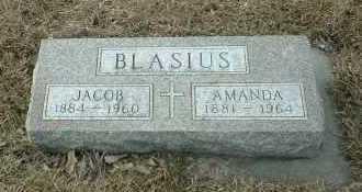 BLASIUS, AMANDA - Hutchinson County, South Dakota | AMANDA BLASIUS - South Dakota Gravestone Photos