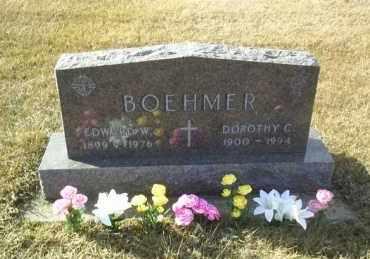 BOEHMER, EDWARD - Hutchinson County, South Dakota | EDWARD BOEHMER - South Dakota Gravestone Photos