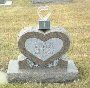 BOEHMER, DENNIS - Hutchinson County, South Dakota   DENNIS BOEHMER - South Dakota Gravestone Photos