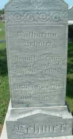 BOEHMER, AUGUST - Hutchinson County, South Dakota | AUGUST BOEHMER - South Dakota Gravestone Photos