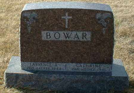 BOWAR, LAWRENCE - Hutchinson County, South Dakota | LAWRENCE BOWAR - South Dakota Gravestone Photos