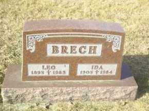 BRECH, IDA - Hutchinson County, South Dakota   IDA BRECH - South Dakota Gravestone Photos