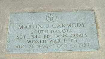 CARMODY, MARTIN J. - Hutchinson County, South Dakota | MARTIN J. CARMODY - South Dakota Gravestone Photos