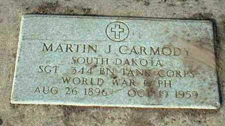CARMODY, MARTIN - Hutchinson County, South Dakota | MARTIN CARMODY - South Dakota Gravestone Photos