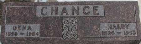CHANCE, DENA - Hutchinson County, South Dakota   DENA CHANCE - South Dakota Gravestone Photos