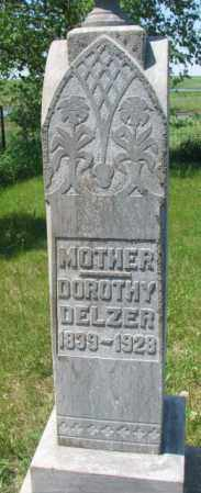 DELZER, DOROTHY - Hutchinson County, South Dakota | DOROTHY DELZER - South Dakota Gravestone Photos