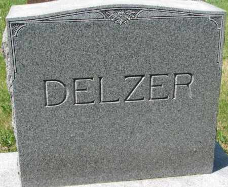 DELZER, FAMILY MARKER - Hutchinson County, South Dakota | FAMILY MARKER DELZER - South Dakota Gravestone Photos