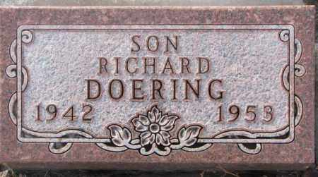 DOERING, RICHARD - Hutchinson County, South Dakota | RICHARD DOERING - South Dakota Gravestone Photos