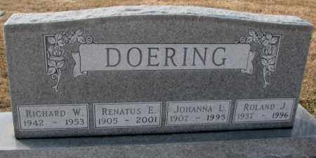 DOERING, RICHARD W. - Hutchinson County, South Dakota | RICHARD W. DOERING - South Dakota Gravestone Photos