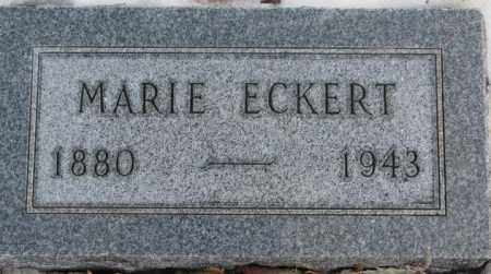 ECKERT, MARIE - Hutchinson County, South Dakota | MARIE ECKERT - South Dakota Gravestone Photos