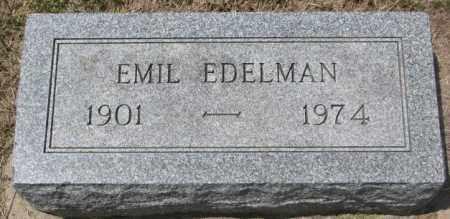 EDELMAN, EMIL - Hutchinson County, South Dakota | EMIL EDELMAN - South Dakota Gravestone Photos