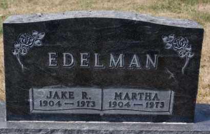 EDELMAN, JAKE R - Hutchinson County, South Dakota | JAKE R EDELMAN - South Dakota Gravestone Photos
