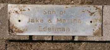 EDELMAN, SON - Hutchinson County, South Dakota | SON EDELMAN - South Dakota Gravestone Photos