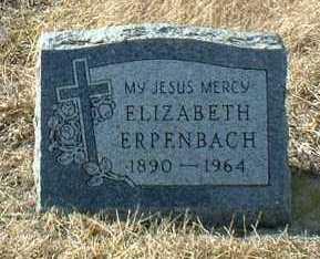 ERPENBACH, ELIZABETH - Hutchinson County, South Dakota | ELIZABETH ERPENBACH - South Dakota Gravestone Photos