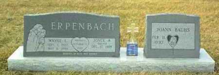 ERPENBACH, JOYCE - Hutchinson County, South Dakota | JOYCE ERPENBACH - South Dakota Gravestone Photos