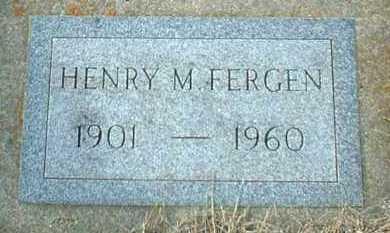 FERGEN, HENRY - Hutchinson County, South Dakota | HENRY FERGEN - South Dakota Gravestone Photos