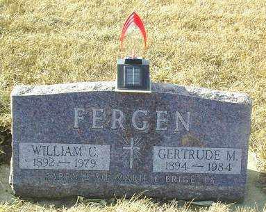 FERGEN, GERTRUDE - Hutchinson County, South Dakota   GERTRUDE FERGEN - South Dakota Gravestone Photos