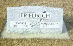 FRIEDRICH, MARGARET - Hutchinson County, South Dakota | MARGARET FRIEDRICH - South Dakota Gravestone Photos