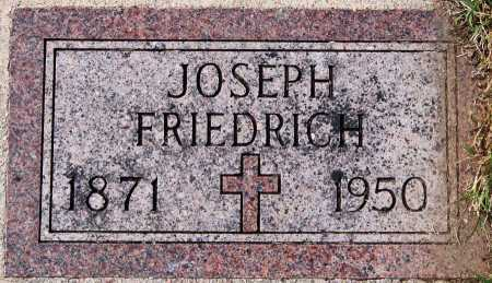 FRIEDRICH, JOSEPH - Hutchinson County, South Dakota | JOSEPH FRIEDRICH - South Dakota Gravestone Photos