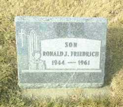 FRIEDRICH, RONALD - Hutchinson County, South Dakota | RONALD FRIEDRICH - South Dakota Gravestone Photos