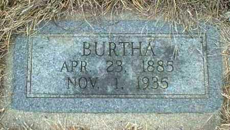 FUNKE, BURTHA - Hutchinson County, South Dakota | BURTHA FUNKE - South Dakota Gravestone Photos