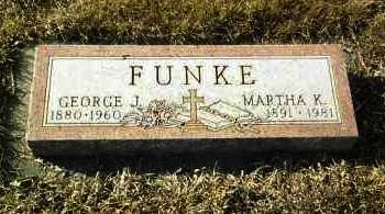 FUNKE, GEORGE - Hutchinson County, South Dakota | GEORGE FUNKE - South Dakota Gravestone Photos