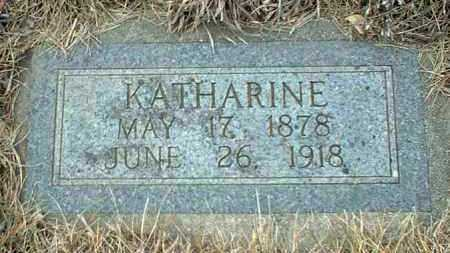 FUNKE, KATHARINE - Hutchinson County, South Dakota | KATHARINE FUNKE - South Dakota Gravestone Photos