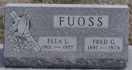 FUOSS, FRED G - Hutchinson County, South Dakota | FRED G FUOSS - South Dakota Gravestone Photos