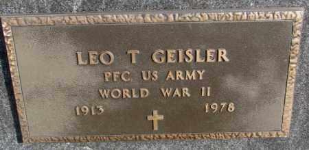 GEISLER, LEO T. (WW II) - Hutchinson County, South Dakota | LEO T. (WW II) GEISLER - South Dakota Gravestone Photos