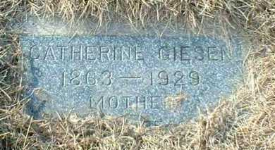 GIESEN, CATHERINE - Hutchinson County, South Dakota   CATHERINE GIESEN - South Dakota Gravestone Photos