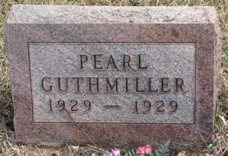 GUTHMILLER, PEARL - Hutchinson County, South Dakota | PEARL GUTHMILLER - South Dakota Gravestone Photos
