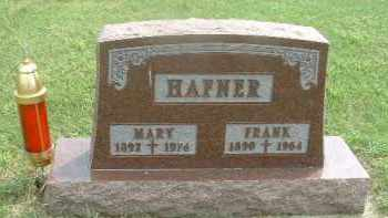 HAFNER, FRANK - Hutchinson County, South Dakota | FRANK HAFNER - South Dakota Gravestone Photos