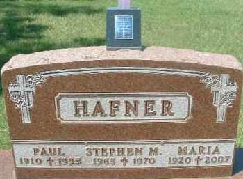 HAFNER, PAUL - Hutchinson County, South Dakota | PAUL HAFNER - South Dakota Gravestone Photos
