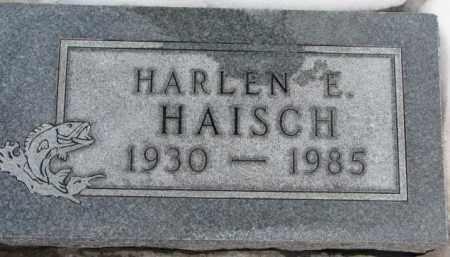 HAISCH, HARLEN E. - Hutchinson County, South Dakota   HARLEN E. HAISCH - South Dakota Gravestone Photos