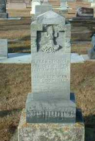 HEISINGER, HENRY - Hutchinson County, South Dakota   HENRY HEISINGER - South Dakota Gravestone Photos