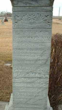 HOFFMANN, MAGDALENA - Hutchinson County, South Dakota | MAGDALENA HOFFMANN - South Dakota Gravestone Photos