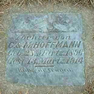 HOFFMANN, INFANT - Hutchinson County, South Dakota | INFANT HOFFMANN - South Dakota Gravestone Photos