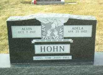 HOHN, ADELA - Hutchinson County, South Dakota | ADELA HOHN - South Dakota Gravestone Photos
