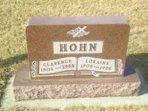 HOHN, LORAINE - Hutchinson County, South Dakota | LORAINE HOHN - South Dakota Gravestone Photos