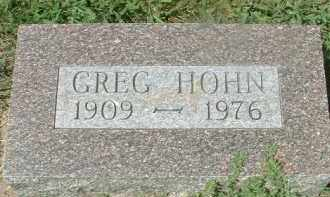 HOHN, GREG - Hutchinson County, South Dakota | GREG HOHN - South Dakota Gravestone Photos