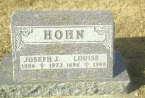 HOHN, LOUISE - Hutchinson County, South Dakota | LOUISE HOHN - South Dakota Gravestone Photos