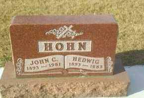 HOHN, HEDWIG - Hutchinson County, South Dakota | HEDWIG HOHN - South Dakota Gravestone Photos