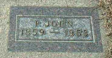HOHN, P. JOHN - Hutchinson County, South Dakota | P. JOHN HOHN - South Dakota Gravestone Photos