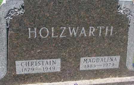HOLZWARTH, MAGDALINA - Hutchinson County, South Dakota | MAGDALINA HOLZWARTH - South Dakota Gravestone Photos