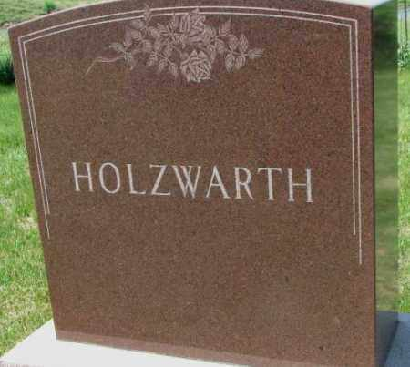 HOLZWARTH, FAMILY MARKER - Hutchinson County, South Dakota | FAMILY MARKER HOLZWARTH - South Dakota Gravestone Photos