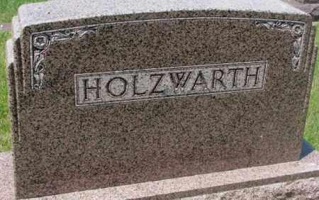 HOLZWARTH, FAMILY MARKER - Hutchinson County, South Dakota | FAMILY MARKER HOLZWARTH - South Dakota Gravestone Photos